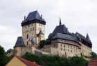 Karlstejn castle near Prague in Czech republic