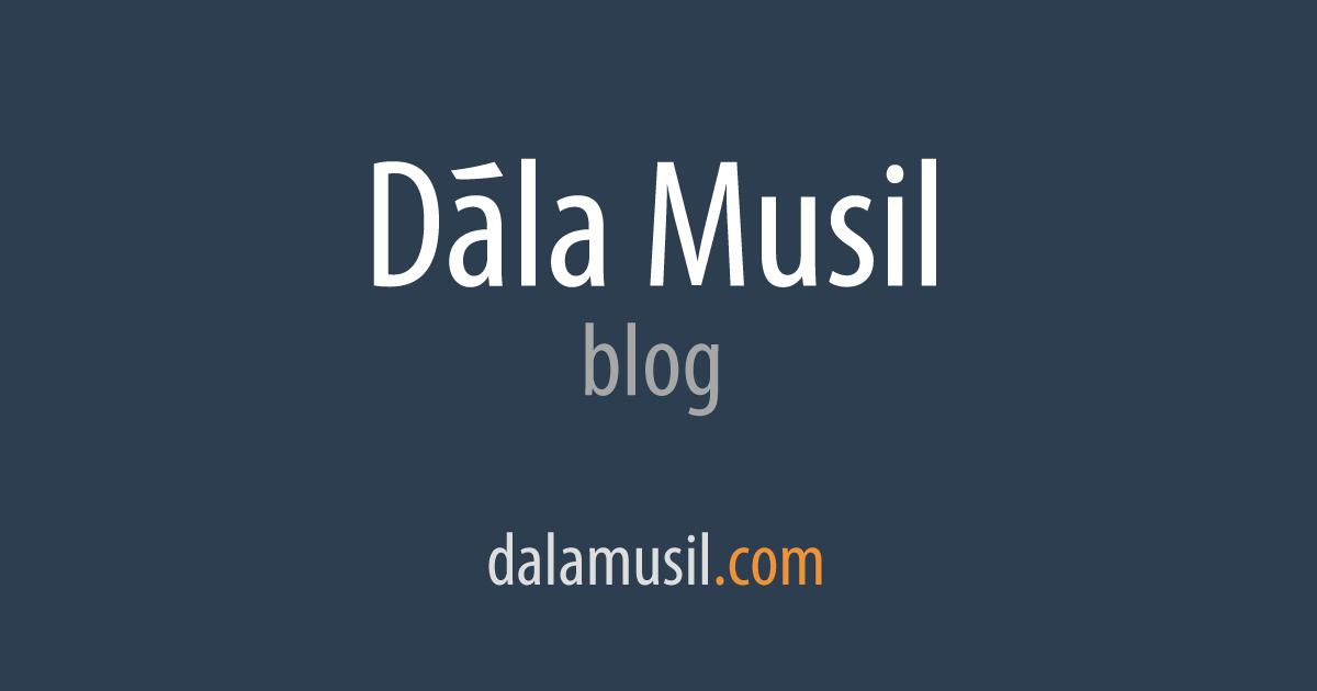 Datování projekt blog
